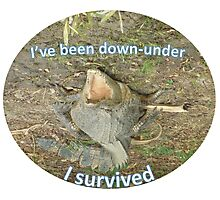 I've been down-under Photographic Print