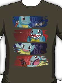 Happy Squirtle Ninjas T-Shirt