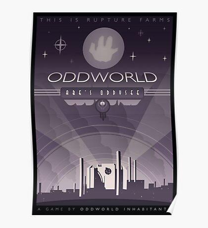 Oddworld: Abe's Oddysee Poster
