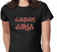 Metal Women Womens Fitted T-Shirt