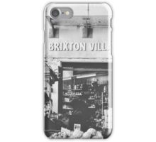 Brixton Village Entrance - Black & White iPhone Case/Skin