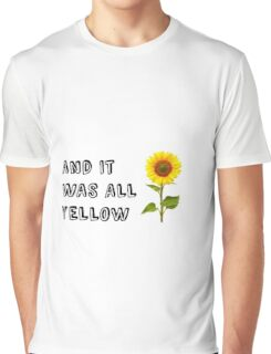 Coldplay-Yellow Graphic T-Shirt