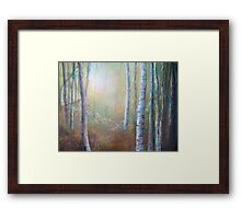 Forest Gloaming Framed Print