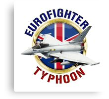Eurofighter Typhoon Canvas Print