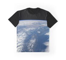Vancouver Island from Earth orbit Graphic T-Shirt