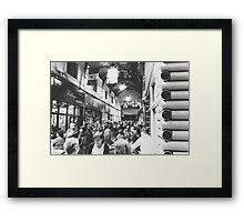 Inside Brixton Village Framed Print