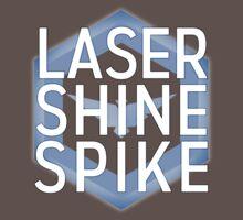 Laser Shine Spike One Piece - Short Sleeve
