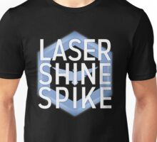 Laser Shine Spike Unisex T-Shirt