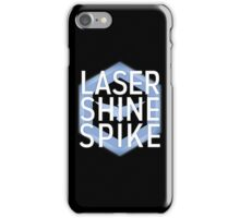 Laser Shine Spike iPhone Case/Skin