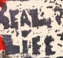 Does the TV show REAL LIFE? Sticker