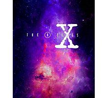 X files galaxy Photographic Print