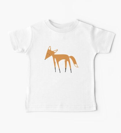 Foxy Pattern Baby Tee