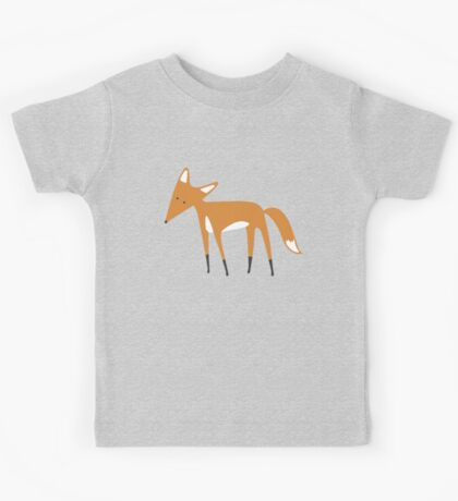 Foxy Pattern Kids Tee
