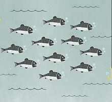 School of Fish by KarinBijlsma