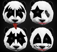 panda kiss  by motiashkar