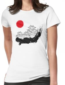 Japanese Palace Womens Fitted T-Shirt