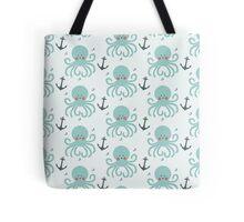 Squid Pattern Tote Bag