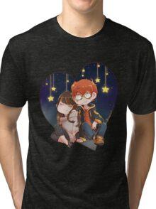 Mystic Messenger - 707 & MC Tri-blend T-Shirt