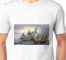 George Washington, Christmas eve 1776 Unisex T-Shirt