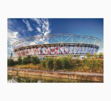 West Ham FC Stadium London Kids Tee