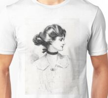 A Daughter of the South - Charles Dana Gibson - 1909 Unisex T-Shirt