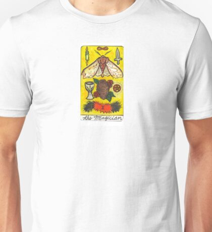 Arthropod Tarot - Card 1, The Magician Unisex T-Shirt