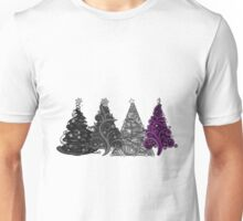 Asexual Christmas Trees Unisex T-Shirt