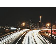 Denver After Dark #6 Photographic Print