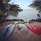 Paddle boards  by Kreardon