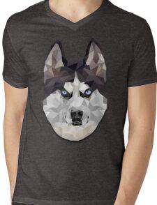 Husky Mens V-Neck T-Shirt