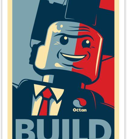 BUILD | The Lego Movie Sticker