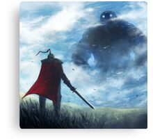 Shrouded Colossus Canvas Print
