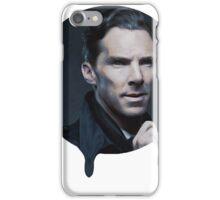 Benedict Cumberbatch- Dripping Portrait  iPhone Case/Skin