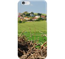 Hill village. iPhone Case/Skin