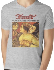 Faust T-Shirt Mens V-Neck T-Shirt