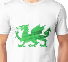 Welsh Leek Dragon Unisex T-Shirt