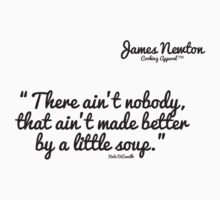 James Newton Apparel - Soup T-shirt One Piece - Short Sleeve