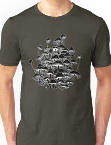 black mushrooms Unisex T-Shirt