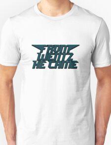 Philadelphia Eagles From Wentz He Came Football NFL Unisex T-Shirt