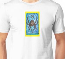 Arthropod Tarot - Card 2, The High Priestess Unisex T-Shirt