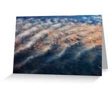 Mountain Abstract VI Greeting Card