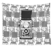 Retro Camera Life Wall Tapestry