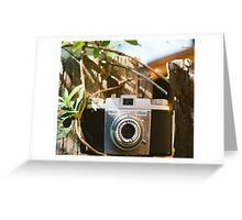 Kodak Pony 135 Vintage Camera Greeting Card