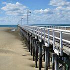 Urangan Pier - Hervey Bay Qld by janewiebenga