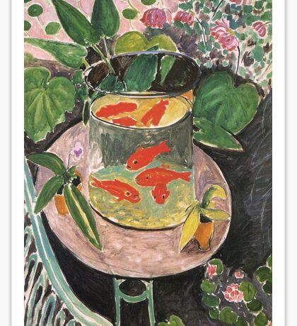 Matisse - The Goldfish Sticker