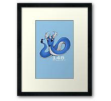 Pokemon #148: Dragonair Framed Print