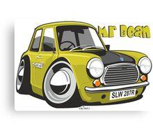 Mini caricature from Mr Bean Canvas Print