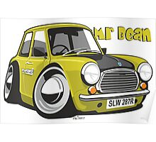 Mini caricature from Mr Bean Poster