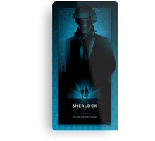 Sherlock Series 1 Metal Print