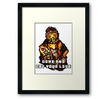 StarLord - Come and Get Your Love Framed Print